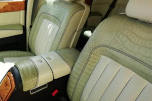 Police Seize Rolls-Royce For Crocodile Leather Upholstery