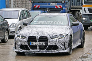 BMW Caught Cooking Up Hotter M4
