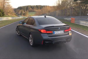 Watch The BMW M5 CS Blast Around The Nurburgring