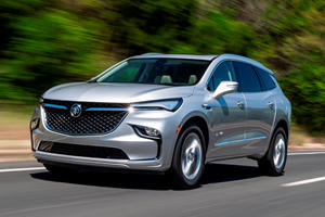 2022 Buick Enclave Looks Ready To Battle The BMW X7