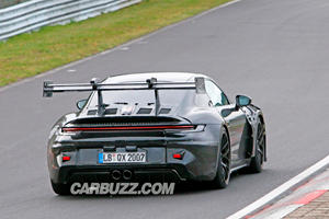 See The Porsche 911 GT3 RS Active Wing In Action