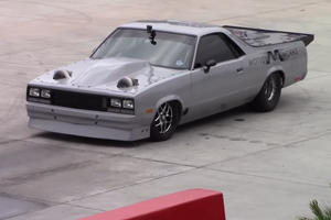 Watch A 2,000-HP Chevrolet El Camino Set A Crazy-Fast Quarter-Mile Time