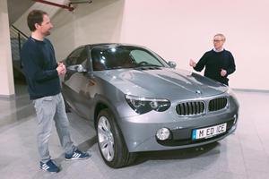 Bizarre BMW X5 Concept Has A Z4 Interior
