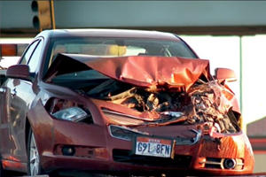 9-Year-Old And 4-Year-Old Sisters Crash Parents' Car Into Semi