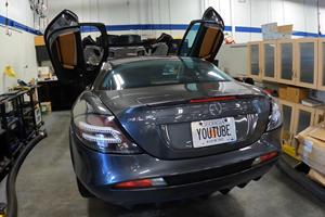 Paris Hilton's Mercedes SLR McLaren Costs $34,000 To Service