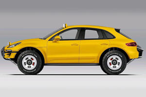 Extreme Porsche Macan Baja Edition Ready To Get Dirty