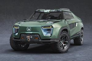 Honda Ridgeline Concept Makes A Cybertruck Look Boring