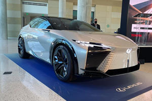 Lexus Reveals When Its First Electric Model Will Arrive