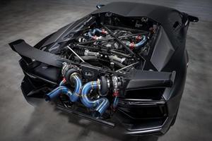 Twin-Turbo Lamborghini Aventador SVJ Is A 2,000-HP Exotic