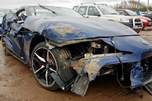 Totaled Toyota Supra Has Unexpected Value