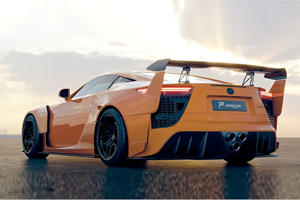 This Is The Widebody Lexus LFA That Should Have Been