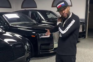 Floyd Mayweather Spent $1 Million On Cars In One Week