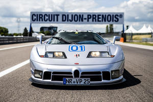 Rare Bugatti EB110 Racer Returns To The Track After 25 Years