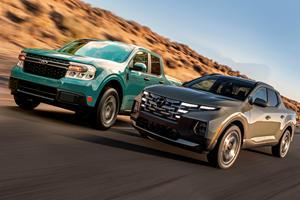 Ford Maverick Vs. Hyundai Santa Cruz: The Tiny Truck Tussle