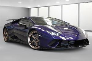 Police Auction Off Hooligan's Lamborghini Huracan Performante