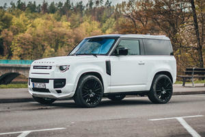 Land Rover Defender Transformed Into Luxury Urban SUV