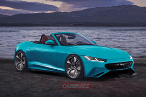 An Electric Jaguar F-Type Would Give The Electric Corvette A Proper Fight