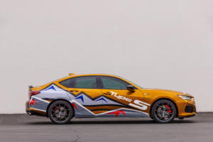 Acura TLX Type S To Pace Pikes Peak Hill Climb