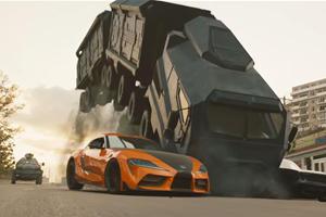 Watch Han Drive Toyota GR Supra In Fast & Furious 9