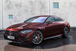 2022 Mercedes-AMG GT 4-Door Coupe Now Seats Five