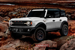 Best Look Yet At The Ford Bronco Warthog