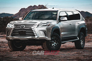 LEAKED: Lexus LX 600 VIP Will Be New Range-Topping SUV