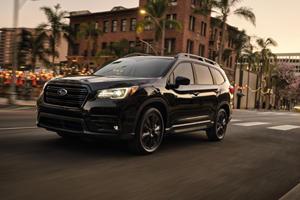 2022 Subaru Ascent Onyx Edition Shows Its Darker Side