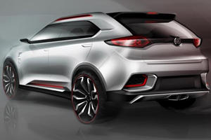 MG CS Concept to Bow in Shanghai