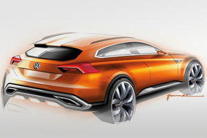 VW Previews CrossBlue Coupe