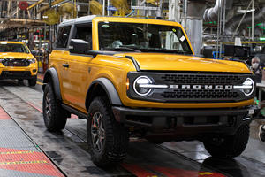 Finally! 2021 Ford Bronco Production Is Underway