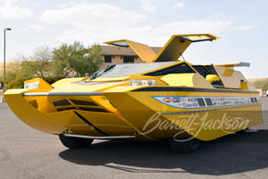 762-HP 'Hydrocar' Can Travel On Both Land And Sea