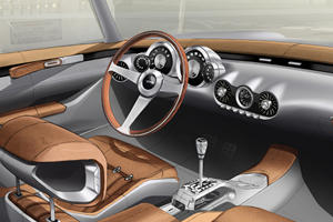 The GTO Squalo's Interior Is Modern, Retro, And Gorgeous