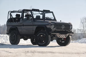 Vintage Mercedes G-Wagon Upgraded With Modern Luxury