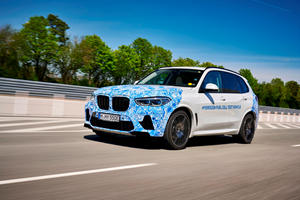 BMW's Hydrogen-Powered X5 Begins Testing