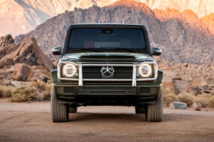 The Mercedes G-Class Just Overtook The Corvette In Sales