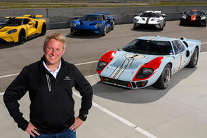 Henry Ford's Great-Great-Grandson Leaving Ford