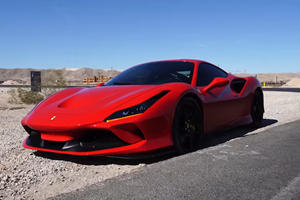 Brand New Ferrari F8 Tributo Totaled During First Rental