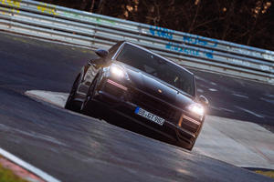 Porsche's Secret Cayenne Turbo Coupe Sets New Record At The Nurburgring