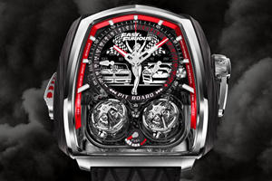 This $580,000 Watch Pays Tribute To Fast & Furious