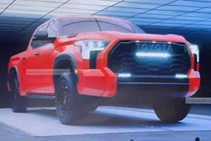 LEAKED: This Is The Toyota Tundra TRD Pro