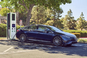 Mercedes EQS Comes With Two Years Of Free Charging