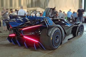 Listen To The Manic Sound Of The 1,824-HP Bugatti Bolide