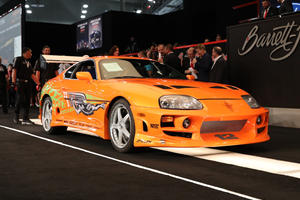 Paul Walker's 'Fast & Furious' Toyota Supra Sets New Auction Record