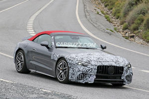 New Mercedes-AMG SL Shows Off Its Sleek Body