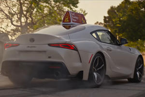 Watch The Toyota GR Supra Perform An Epic Jump In Hilarious Commercial