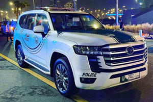 New Toyota Land Cruiser Joins Dubai's Police Fleet