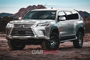 Lexus LX750h Will Arrive As Hybrid Beauty With 500 HP
