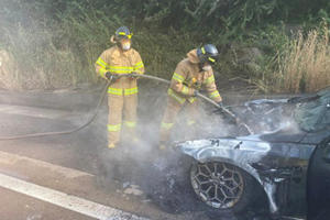 Firefighters Voice Concern Over Electric Vehicle Fires