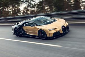 Bugatti Refines High-Speed Handling On Chiron Super Sport