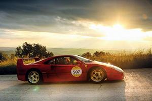 Ferrari Hosts Epic 1,000-Mile Road Race Across Italy
